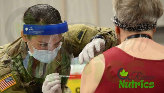 COVID-19 More than 1K Troops Helping Vaccine Distribution
